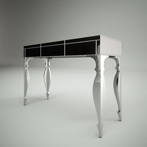 3d model dv home console table