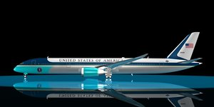 3d dreamliner u s president model