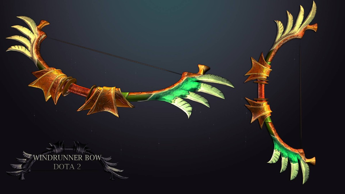 bow windrunner 3d model