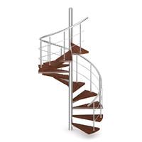 3d max spiral wood wooden