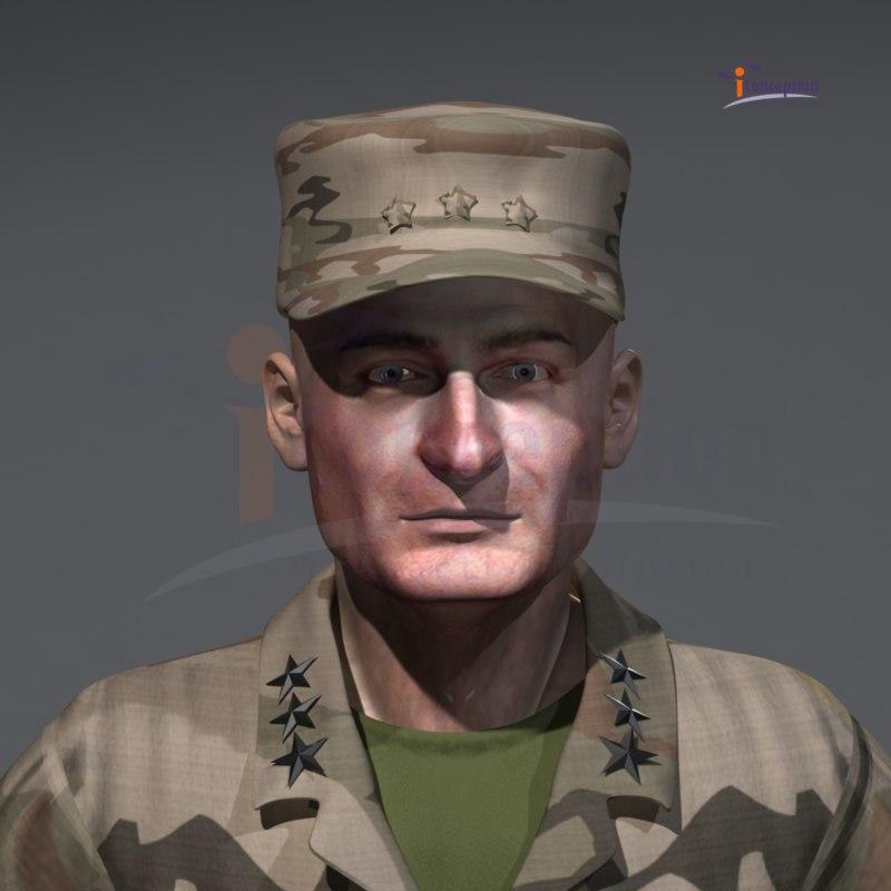 3d model army iraq