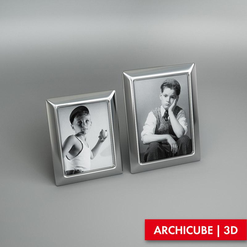 table photo frame model