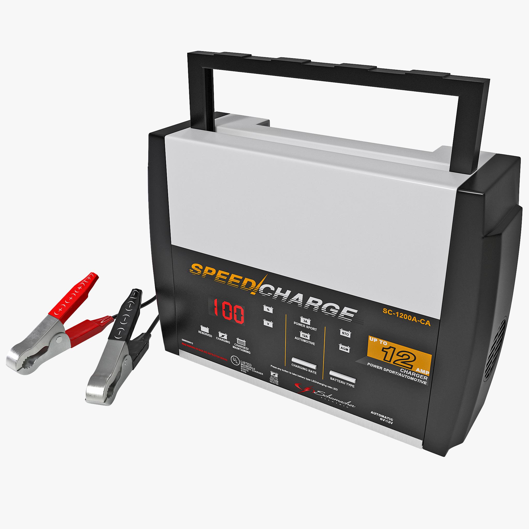 Battery Charger Schumacher Max
