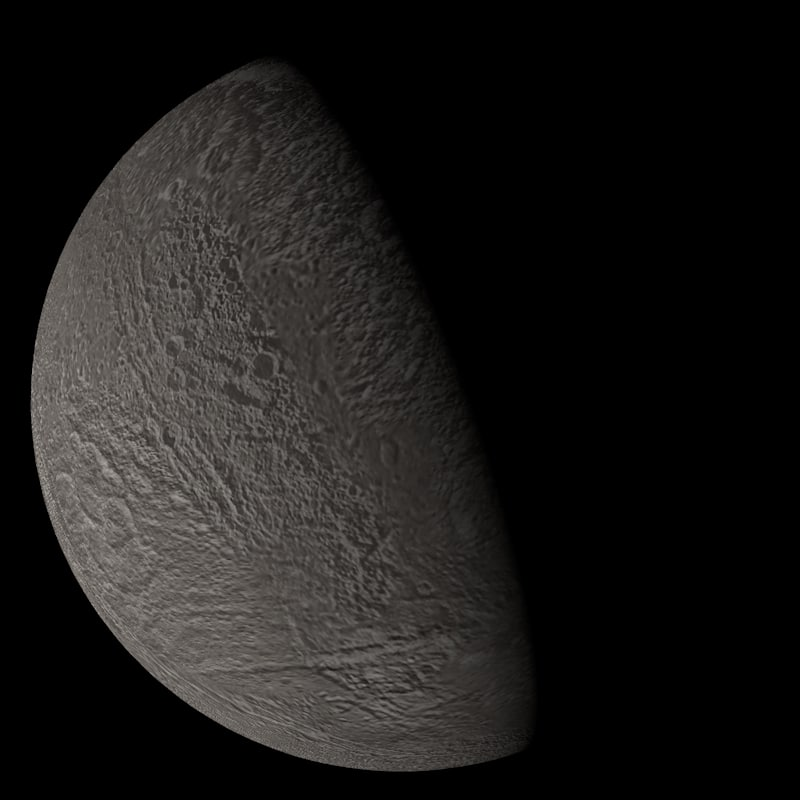 photorealistic dione 3d model