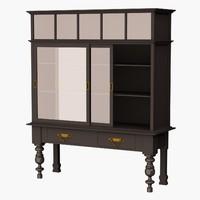 3d model eichholtz cabinet barney s