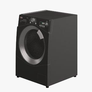 3d model washing machine