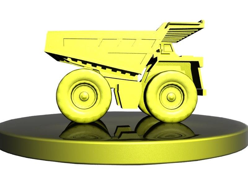 mining dump truck toy max