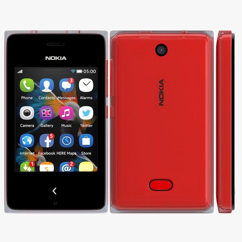 Nokia Asha 500 Red