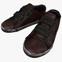 3ds max old shoes