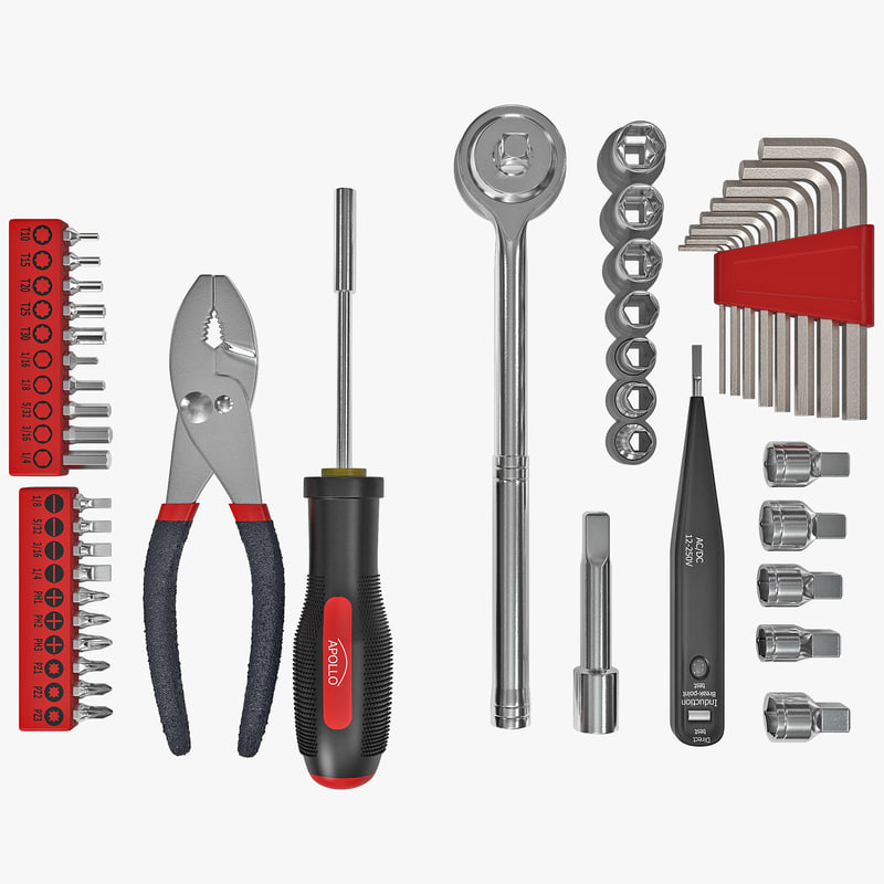 precision tools set 2 c4d