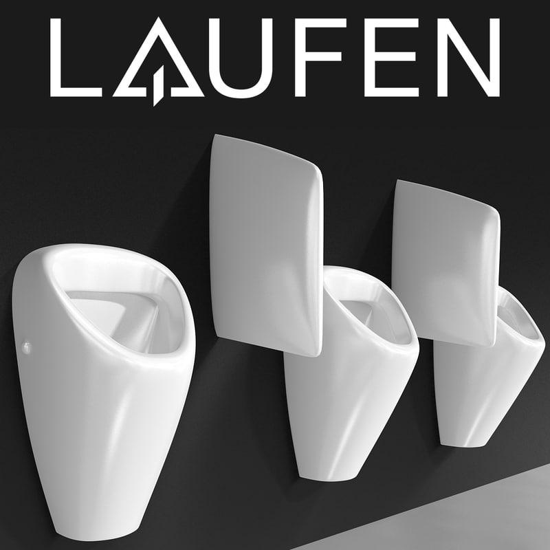 laufen caprino public 3d model