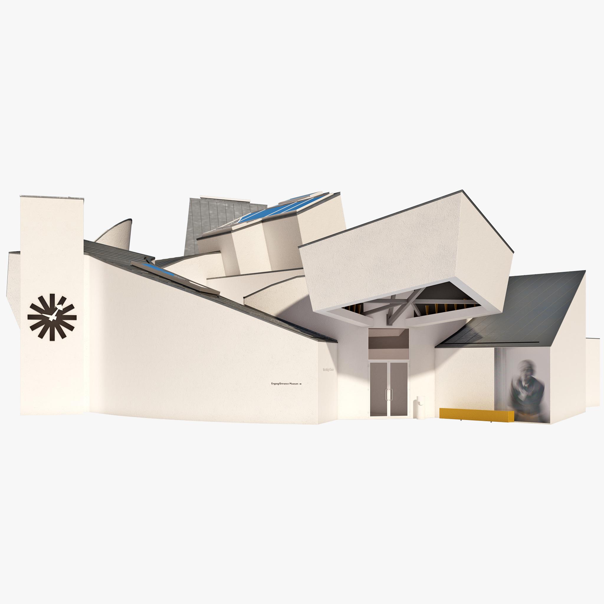 3d vitra design museum. Black Bedroom Furniture Sets. Home Design Ideas