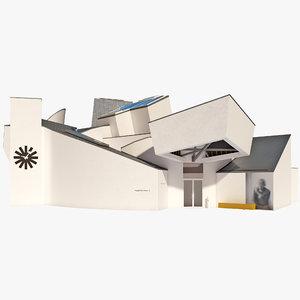 3d vitra design museum