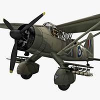Westland Lysander British WWII Liaison Aircraft