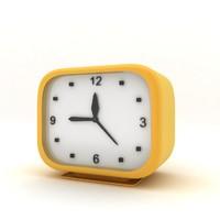 3d clock hand model
