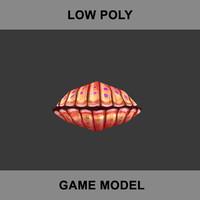 3d pearl shell model