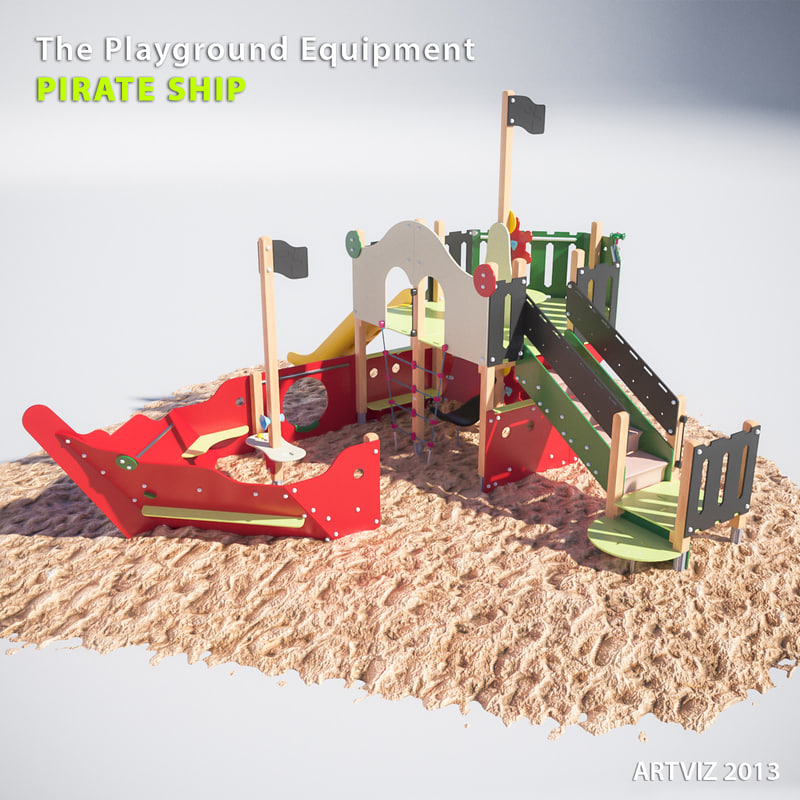 3ds playground equipment