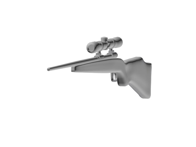 3d savage rifle