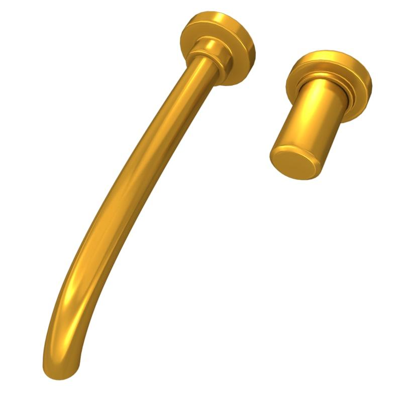 3ds golden water tap