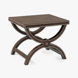baker alexandre stool 3d model