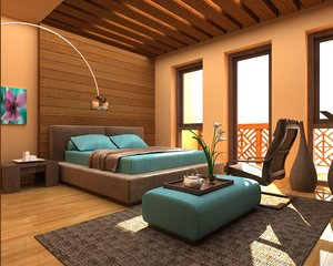 3d bedroom