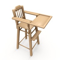 vintage chair obj