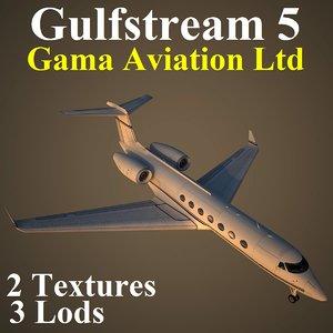 max gulfstream 5 gma