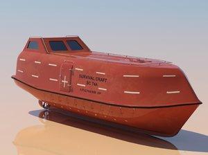 max fall life boat