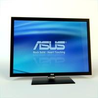 asus display 3d model