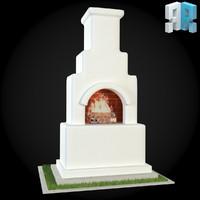 3d architectural modules model