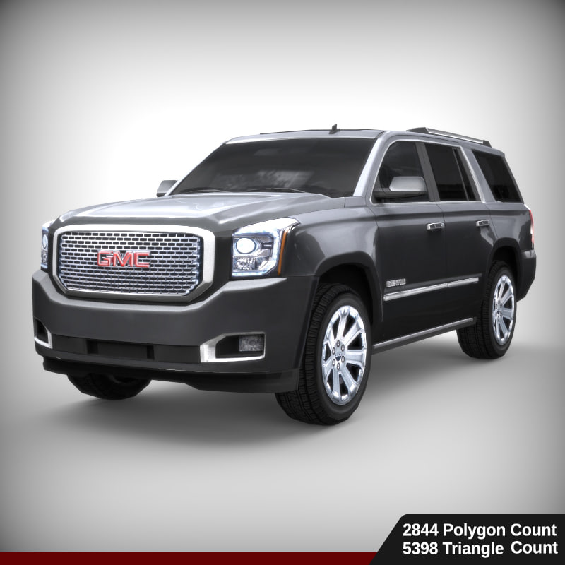 3d model gmc yukon denali