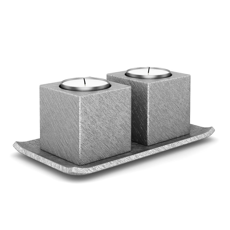 3d double metal candle model