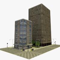 city block 5 3d c4d