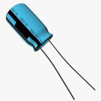 free capacitor 3d model