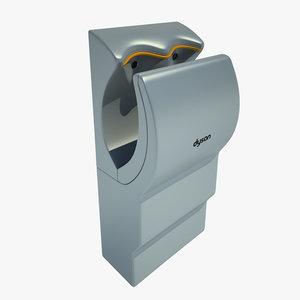 hand dryer dry 3d model