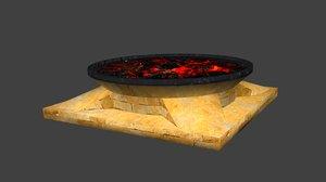 3d model dungeons ancient