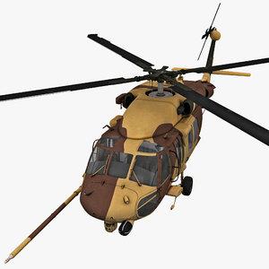 hh-60 pave hawk 2 c4d