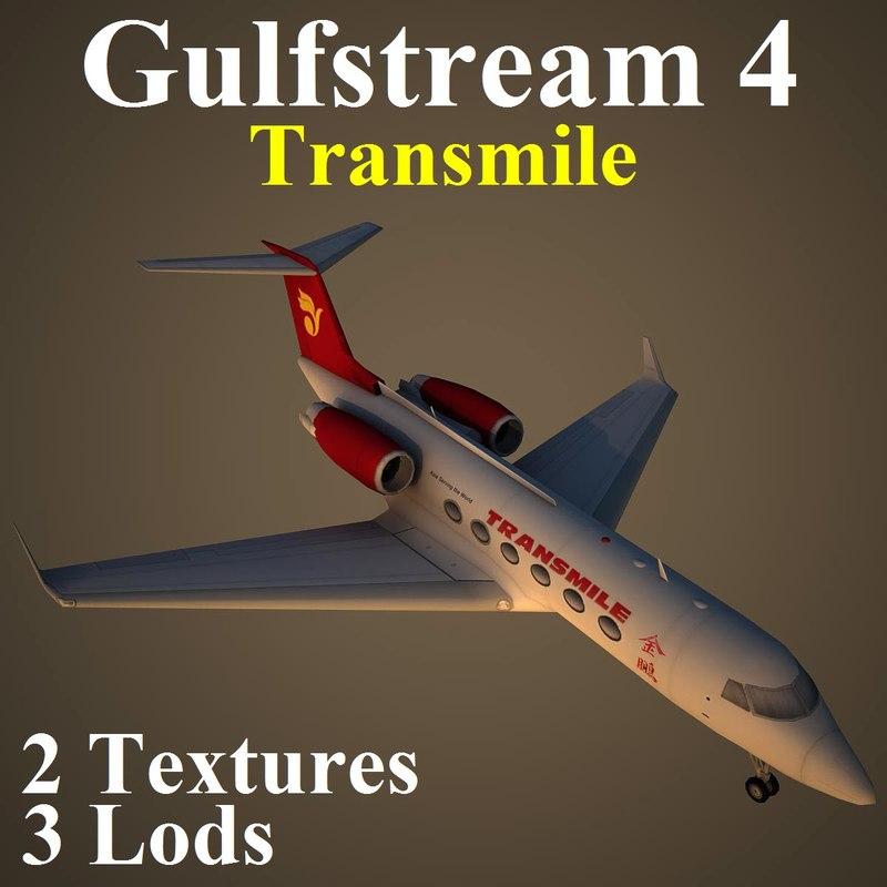 3d max gulfstream 4 tse