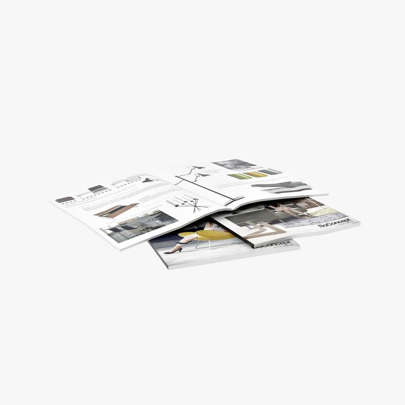magazines 3d max