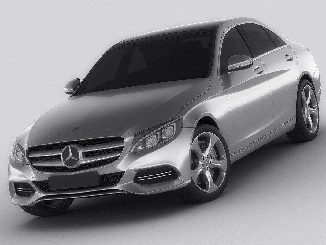 3d mercedes c class model