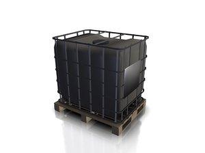 3d model plastic tank