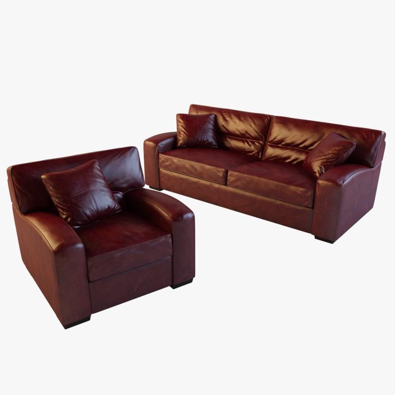 panther sofa 3d max