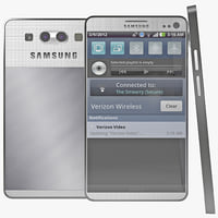 3d samsung galaxy s4 2 model