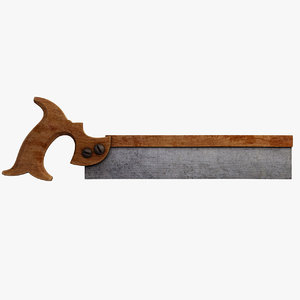 3ds max handsaw saw