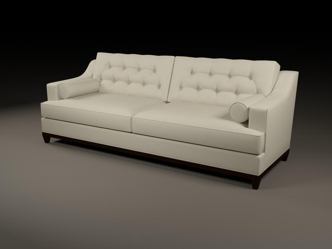 3d model sofa interiors