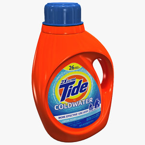 3ds tide laundry detergent bottle