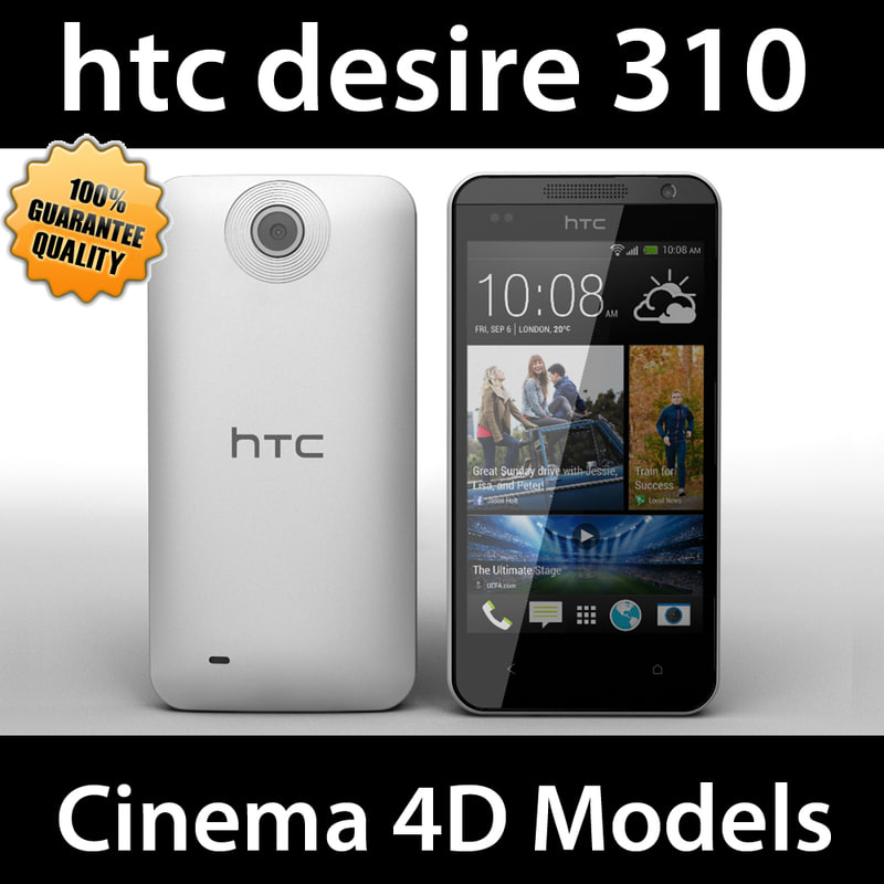 3d htc desire 310