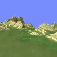 3d model metay terrain km-06
