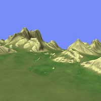 3d max metay terrain km-06