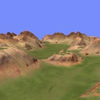 3d metay terrain km-09 model